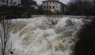 El río Ultzama bajaenojado